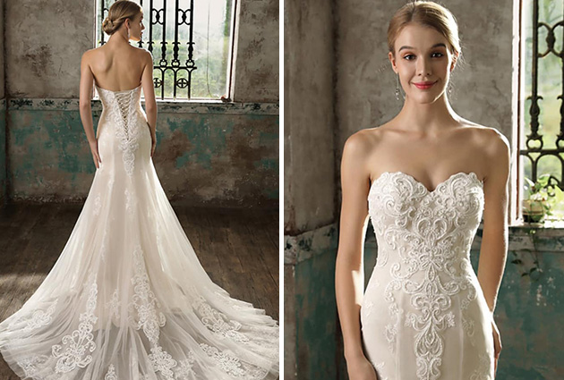 Wedding Gown With Cape: SPECIAL OCCASIONS WEDDING GOWNS AND EVENING WEAR